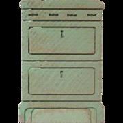 "Strombecker 3/4"" Apartment Stove Dollhouse Furniture"