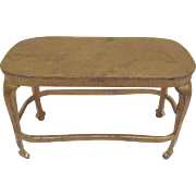 """Tootsie Toy 1/2"""" Library Table Dollhouse Furniture"""