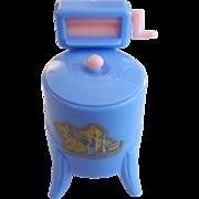 "Renwal 3/4"" No. 31 Blue Washing Machine Dollhouse Furniture"