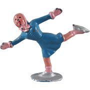 Barclay Cast Metal Winter Series Figure Skating Woman