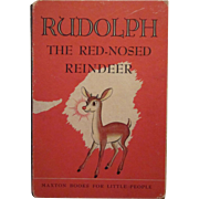 Rudolph the Red-Nosed Reindeer 1947 Edition Hard Back Book
