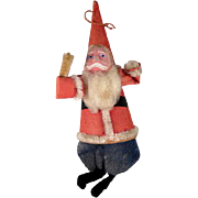 Figural Santa Claus Ornament Made in Occupied Japan