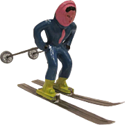 Barclay Winter Figure Woman Skiing