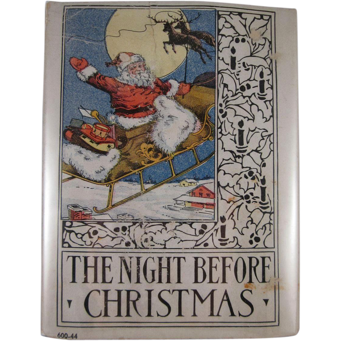 The Night Before Christmas Wee Book For Wee Folks Platt