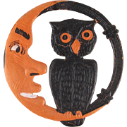 Made in Germany Moon and Owl Diecut Small Size