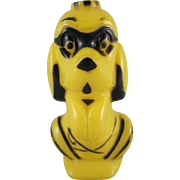 Rosbro Hard Plastic Dog Trick or Treater Halloween Candy Container Decoration in Yellow