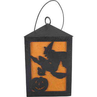 Union Products Hard Plastic Battery Operated Halloween Square Lantern Works