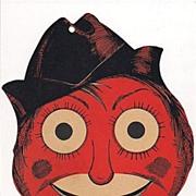 Beistle Halloween Diecut Scarecrow Head Decoration - Red Tag Sale Item
