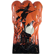 Tin Litho Frog Shaped T. Cohn Halloween Clicker