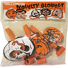 Made in Japan Halloween Novelty  Blow Outs in the Original Package of 3
