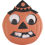 Small Germany Jackolantern Clown Head Halloween Diecut Decoration