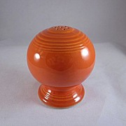 Fiesta by Homer Laughlin Vintage Red Salt Shaker Single