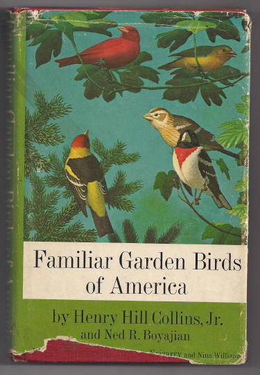 'Familiar Garden Birds of America' Hard Back Book 1965
