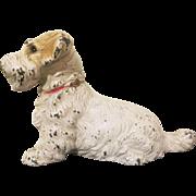 Hubley Cast Iron Sealyham Terrier Paperweight
