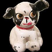 Hubley Cast Iron Fido Boston Terrier Puppy Paperweight