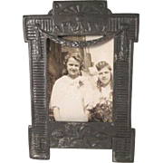 Small Tin Picture Frame Made in Austria