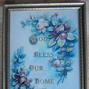 'God Bless Our Home' Framed Print by Lyman Studio Chicago