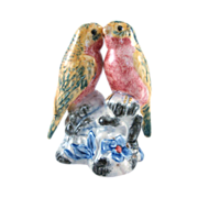 Stangl Pottery #34004D Double Lovebirds Original Design Bird Figure