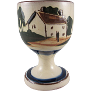 Torquay Motto Ware  Single Egg Cup Cottage Design #1
