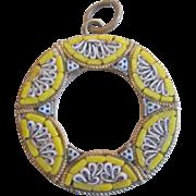 Italian Micro Mosaic Pendant