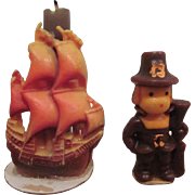 Gurley Mayflower and Pilgrim Candles