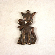 Early Brass 'Tige' (Buster Brown's Dog) Charm