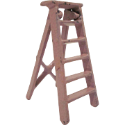 "Kilgore 1/2"" Cast Iron Ladder Dollhouse Furniture"