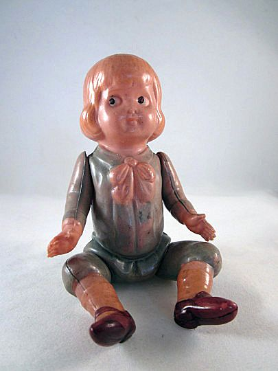 Made In Japan Celluloid Buster Brown Doll Figure From