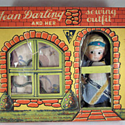 'Jean Darling and Her Sewing Outfit' Child's Sewing Set in Original Box