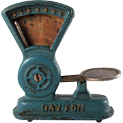 A. C. Williams Cast Iron Dayton Grocery Scale Toy