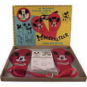 Mickey Mouse Club WDP Make Your Own Holster Set in the Original Box