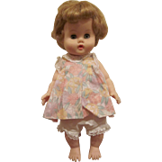 Vogue Vinyl Ginny Baby Drink and Wet Dressed Doll