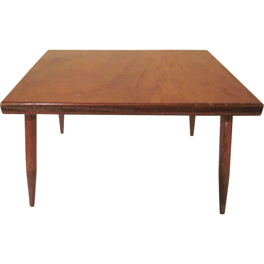 Hall 39 s lifetime toys modern dining room table for 8 to 10 inch dolls from milkweedantiques on - Modern dining room table png ...