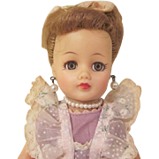 Ideal Little Miss Revlon Doll with Tagged Dress