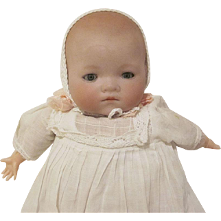 "A.M. 541/0 Germany Bisque Head 10-3/4"" Baby Doll"