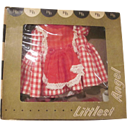 Vintage R&B Littlest Angel Boxed Gingham Dress Outfit 1950s