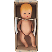 Vintage Kerr & Hinz Jointed Baby in Original Box