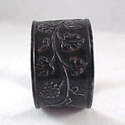 Universal Theatres Embossed Tin Napkin Ring Freebie Germany