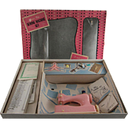 Junior Miss Sewing Machine Set by Hasbro in Original Box