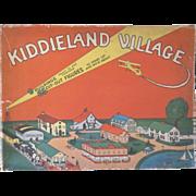 Whitman's Kiddieland Village in Original Box c1930