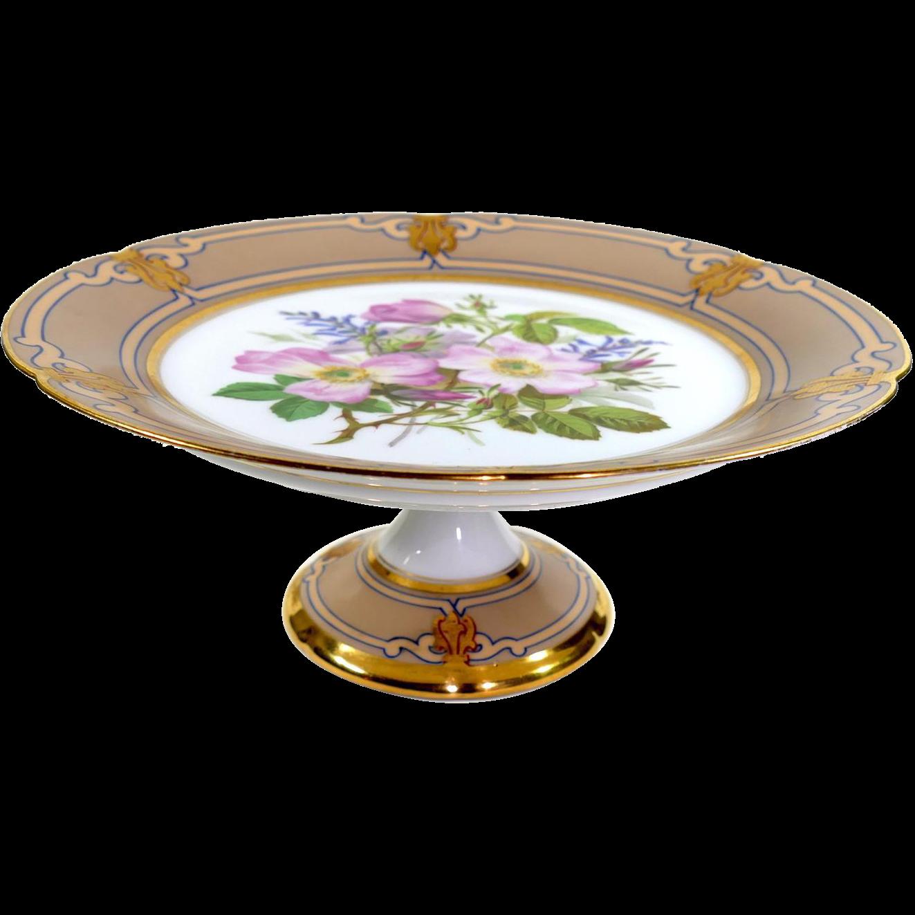 Ed Honore Porcelain 19th Century Old Paris Porcelain
