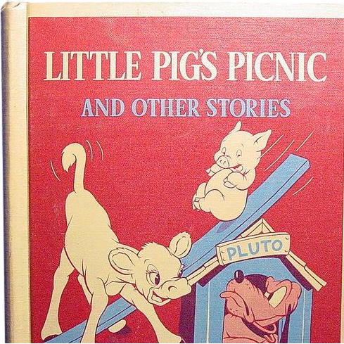 Little Pig's Picnic and Other Stories,  Walt Disney-Margaret Wise Brown, 1939