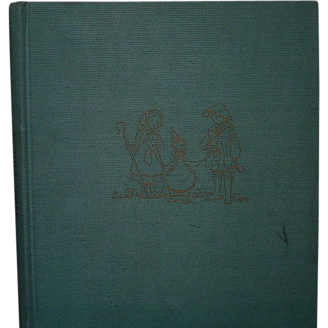 """Mother Goose"" Tasha Tudor, 1944, 1st Ed, Second Printing"
