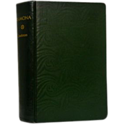 """Helen Hunt Jackson, """"Ramona"""" Publisher Robert Brothers, 1885"""