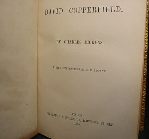 david copperfield book report David copperfield has 80 ratings and 4 reviews [penguin readers level 3]david copperfield's happy life suddenly changes when his mother marries again.