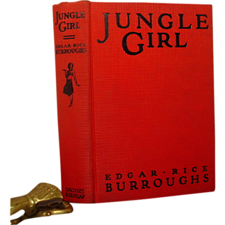 Jungle Girl, Edgar Rice Burroughs, Grosset & Dunlap 1937