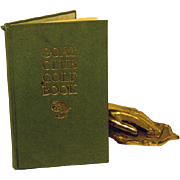Goat Club Golf Book 1st Edition 1911