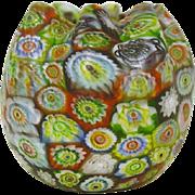 Art Glass Millefiori  Vase