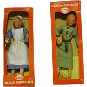 Playhouse Dolls Biege-Puppchen in Boxes