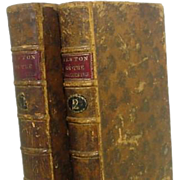 Two Volume Newton on The Prophecies Eight Edition M,DCC,LXXXVII